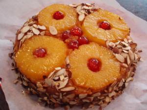 Azorean Pineapple Upside Cake (Bolo de Ananás)