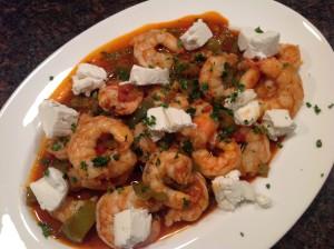Shrimp with Goat Cheese (Camarão com Queijo de Cabra)