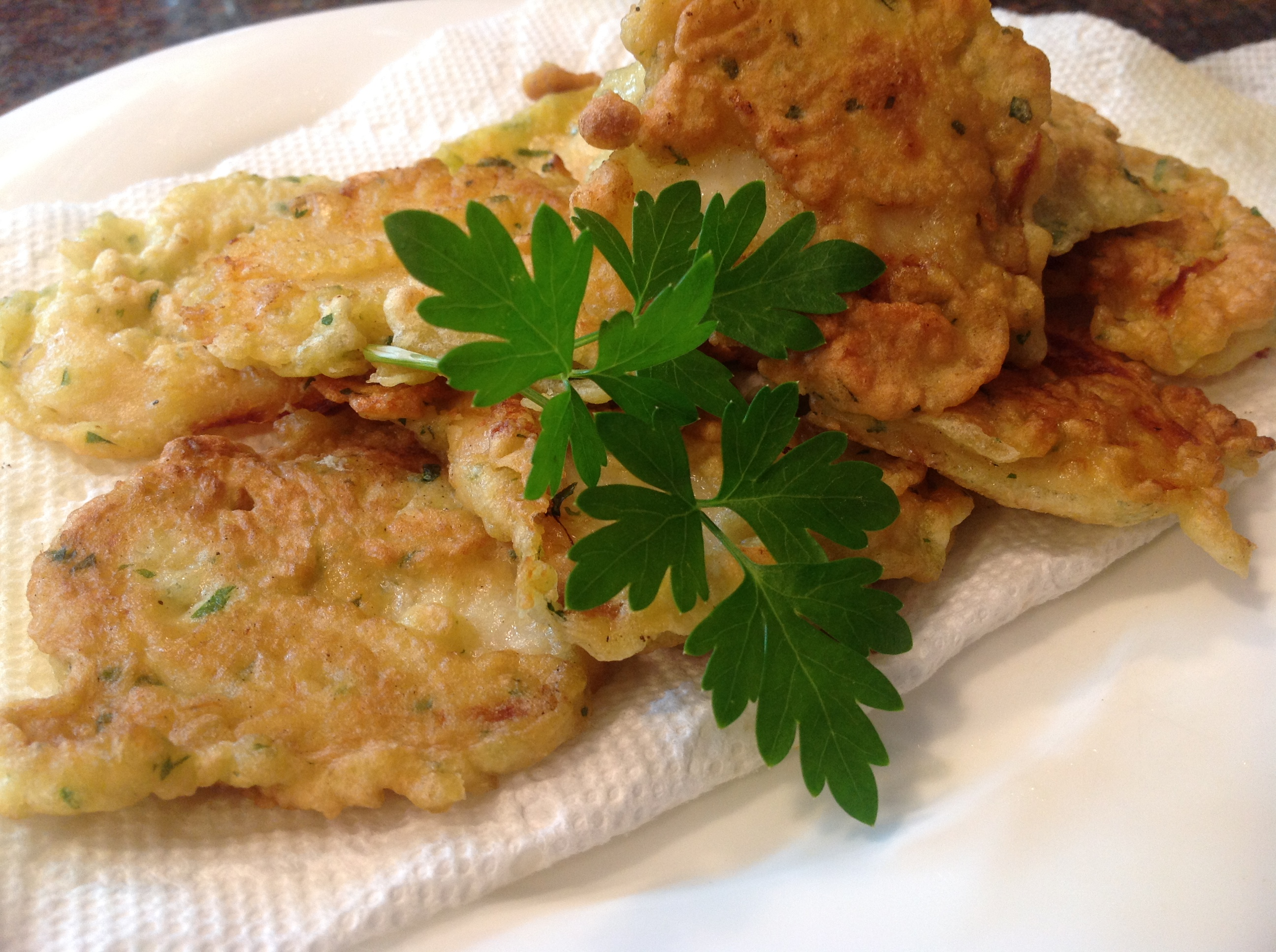 Fried cod fritters pataniscas portuguese cooking for Portuguese cod fish recipes