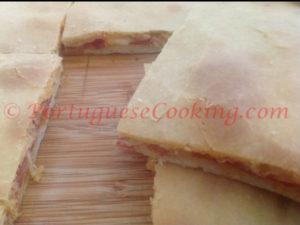 Presunto Bread of Lamego (Bola de Presunto)